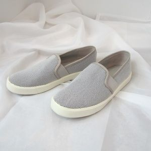 Vince 6 Blair Perforated Slip On Tennis Shoes EUC